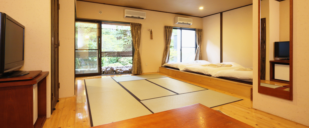 1階露天風呂付大型和室(禁煙)