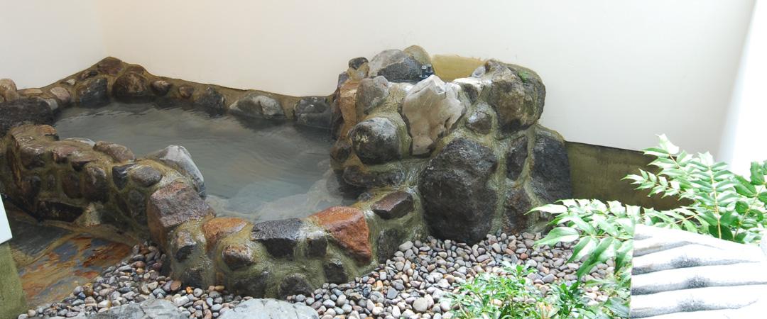 2階硫黄泉露天風呂付大型和室(禁煙)
