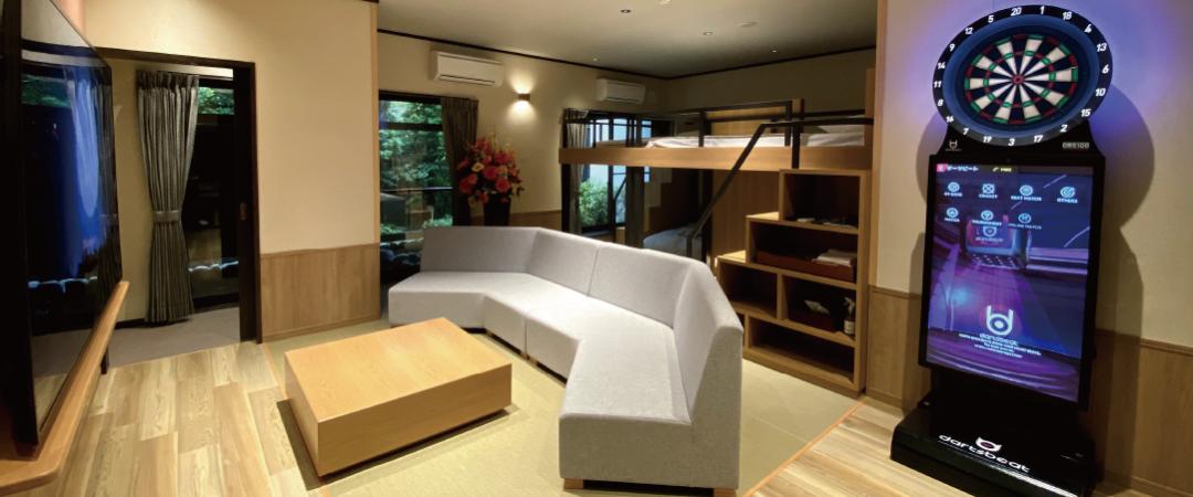 1階エキサイトルーム(露天風呂付・禁煙)