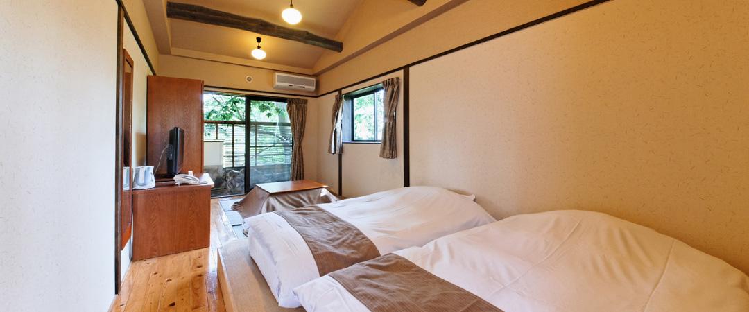 2階露天風呂付ツイン和室(禁煙)
