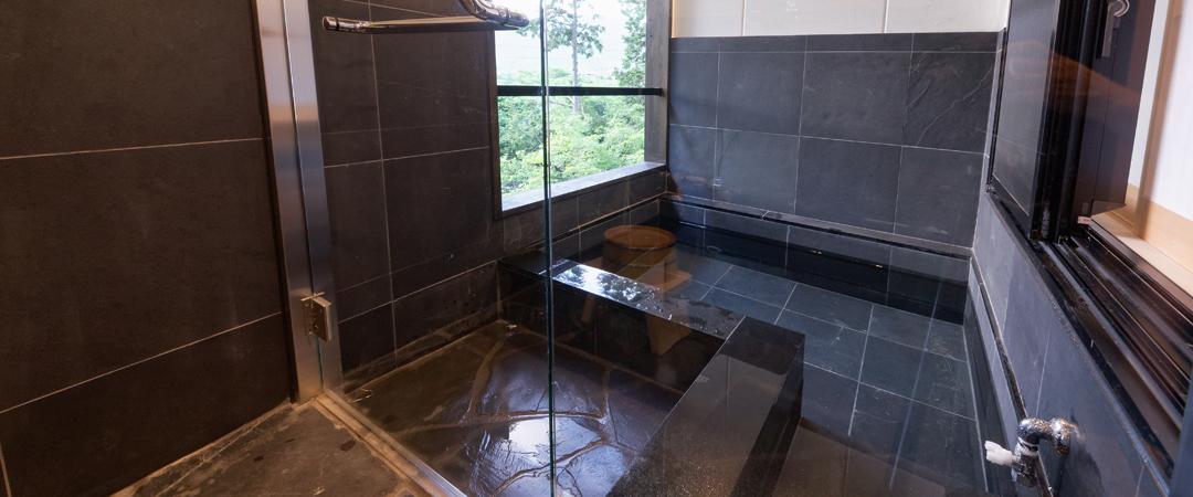 露天風呂付ツイン和室