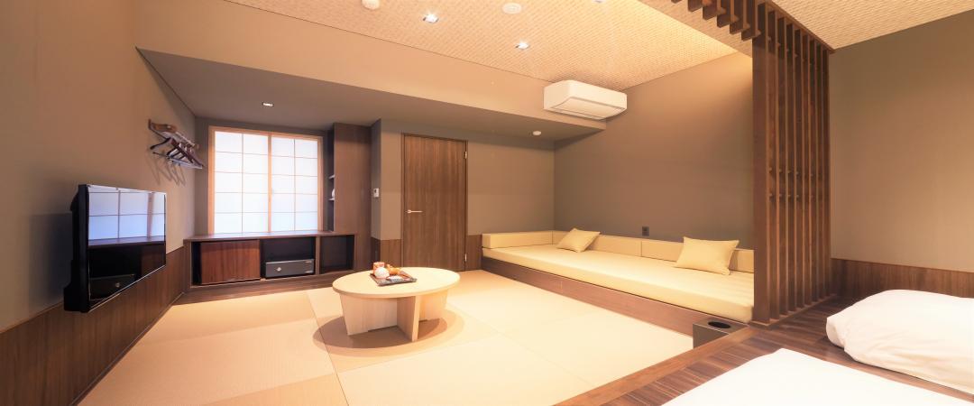 【別館】山側露天風呂付和洋室